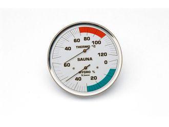 Sauna-Hygrotherm mit 160 mm Skala